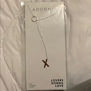 Brand new adornia XO necklace